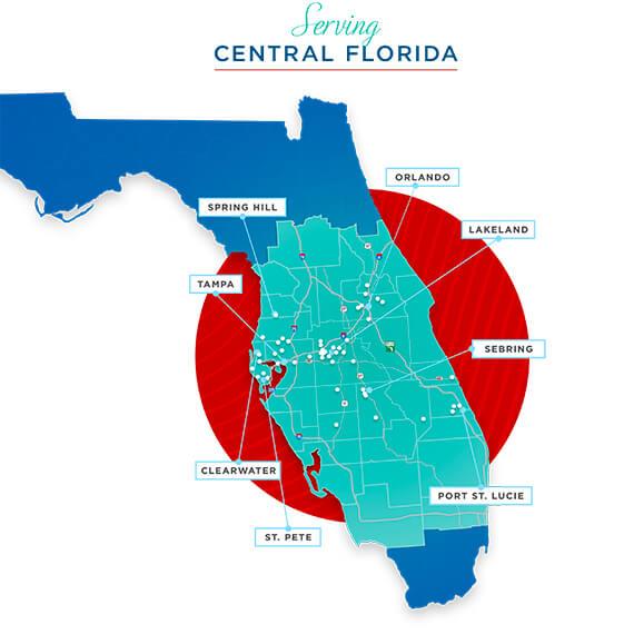service area counties  u0026 zip codes